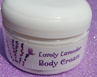 Lovely Lavender Cream, Lavender Moisturizing Cream, Lavender Lotion