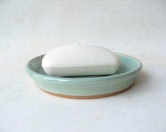 Pottery Soap Dish, Handmade Ceramic Soap Dish