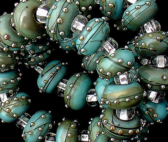 DSG Beads~Artisan Debbie Sanders Handmade Lampwork Glass Beads ~Eye Candy~ Made To Order For Jewelry Making Craft Projects