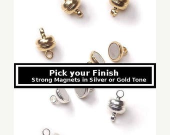 30% Retirement Closeout - Pick Your Finish, 11mm, Exceptionally Strong, 3 Clasps, Necklace Clasp, Bracelet Clasp, Darice Brand,