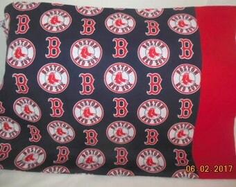 Boston Red Sox Baseball Pillowcase