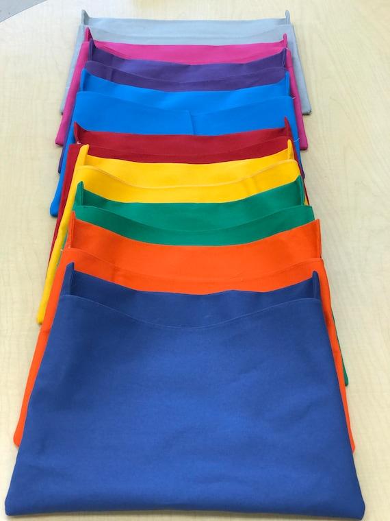 6 Classroom Chair Pockets Seat Sacks Desk Organizer Chair Bag