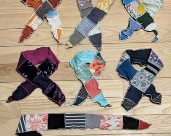 Organic Headbands - Adjustable, Reversible, fits any size Head! Handmade from Organic, Natural, and Salvaged fabrics