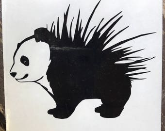 Porcupanda GISHWHES Inspired Car, Laptop, or Decor Decal