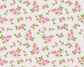 20%OFF Riley Blake Designs Kewpie Love - Floral Cream