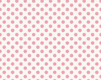 EXTRA15 20% OFF Riley Blake Designs Garden Girl by Zoe Pearn - Dot Pink