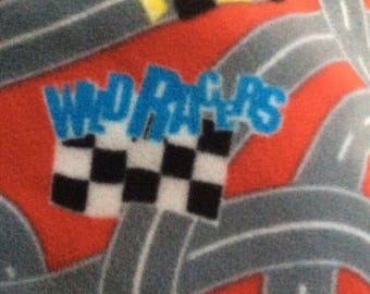 Race Cars Hand Tied Fleece Blanket