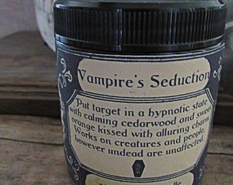 Vampire's Seduction Skyrim themed candle