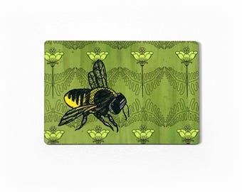 Honey Bee Magnet, Bee Fridge Magnet, Bee Kitchen Magnet, Magnet With Bee On