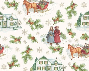 Anne of Green Gables Christmas - Main Beige (C6490-BEIGE)