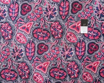 Victoria and Albert PWVA049 Bhandari Toraja Indigo Fabric By Yard