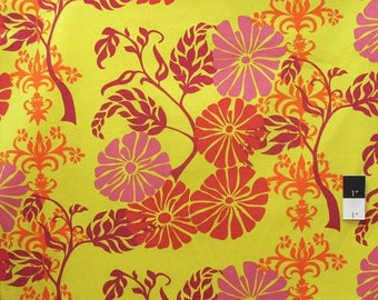 CLEARANCE SALE Valori Wells HDVW18 Del Hi Tapestry Scarlet Cotton Home Decor Fabric By the Yard
