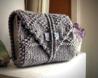 Gray tarot wrap / tarot card holder / unique tarot gift / tarot reader gift / tarot case / tarot wrap case / small tarot mat / tarot cozy