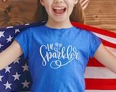 Lil Sparkler | July 4th SVG Files | SVG 4th of July | USA svg Files | July 4th svg | 4th of July svg | Patriotic svg Files | 4th of July