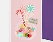 Sweet Wishes - greetings card
