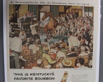 118 Early Times Bourbon 1952