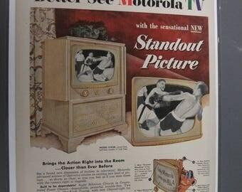RAD 140   Motorola  TV   - September 29, 1952