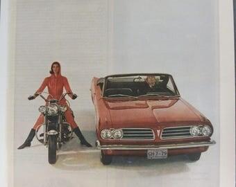 Pontica #151  Pontiac     Magazine Ad -  1963