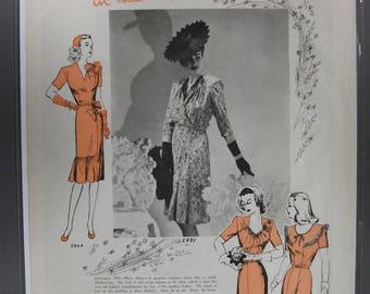 """FAS-L 147  """" Subtle Flattery  """"  Ad -   April 1944"""