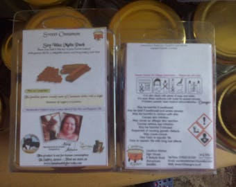 Sweet Cinnamon Scented Soy Wax Melts Pack