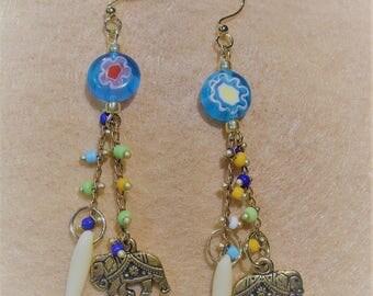 Boho Collection Elephant Walk Earrings