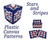 PATTERN: Stars And Stripes Plastic Canvas Pattern