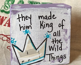 King of the Wild Things