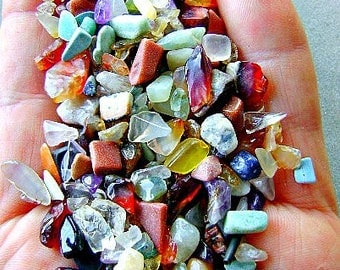 GEMSTONE UNDRILLED, CHIPS Small, Closeout,Fundraiser, School,
