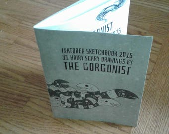 The Gorgonist Inktober Sketchbook vol 2