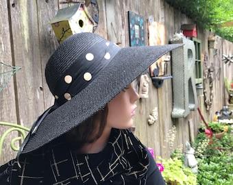 Pretty Polka Dot Picture Hat