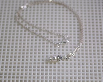 2 Pc Set - Necklace & Earrings - Swarovski Pearls - Made to Order - Any Color - Bridesmaids, Jr Bridesmaids, Flower Girls
