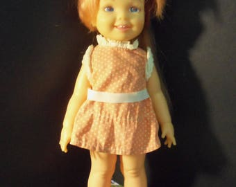 Vintage 1972 Ideal Toy Corp Doll Cinnamon Crissy's Little sister