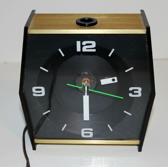 Vintage High Time Ceiling Projection Alarm Clock by Stancraft