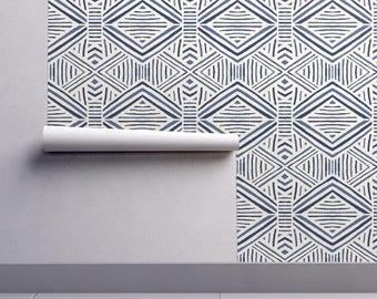 geometric wallpaper etsy