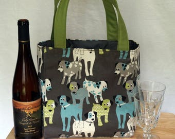 3 Pocket Padded Bag For Wine Bottles, Soccer, Baseball, Lacrosse, Crafts and the Beach