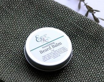 Organic Nourishing Beard Balm, Natural Beard Balm, Organic Beard Balm