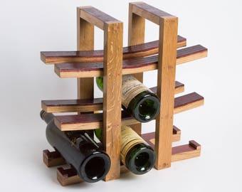 Napa Barrel 9 Bottle Wine Rack