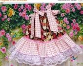 SUMMER SALE SALE Sale - Baby Girl Dress 12M/18M Valentine Hearts Pink Red Hearts, Pillowcase Dress, Pillow Case Dress, Boutique Dress, Sundr