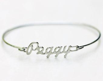 Vintage Name Bracelet - Peggy