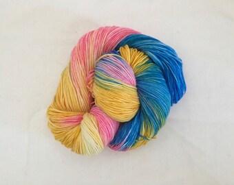 Moody Sunset - Hand-dyed Merino Sock Wool 4 ply