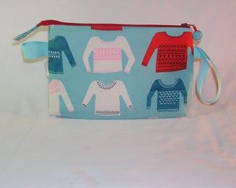 My Favorite Sweater on Aqua Tall Mia Bag