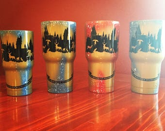 Harry Potter Tumbler Etsy