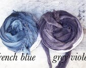 Chiffon Ribbon, Recycled Silk Sari Ribbon, Tiebacks, Baby Photography Prop, Prop Ribbon Yarn, Jewelry Making, knitting yarn