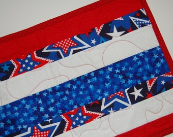 Simply Stripes Patriotic Table Runner