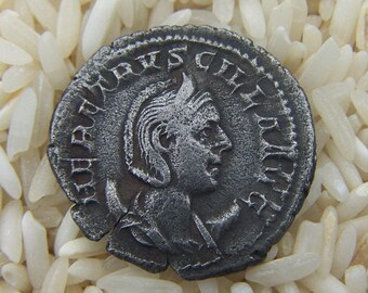Authentic Ancient Roman Coin of Herennia Etruscilla, 249-251 A.D.