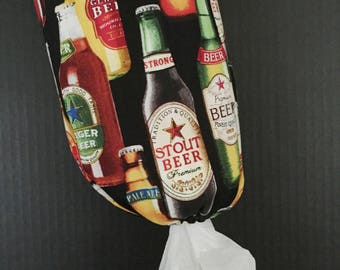 50% off BIRTHDAY SALE!        Craft Beers Plastic Bag Dispenser/Plastic Bag Holder