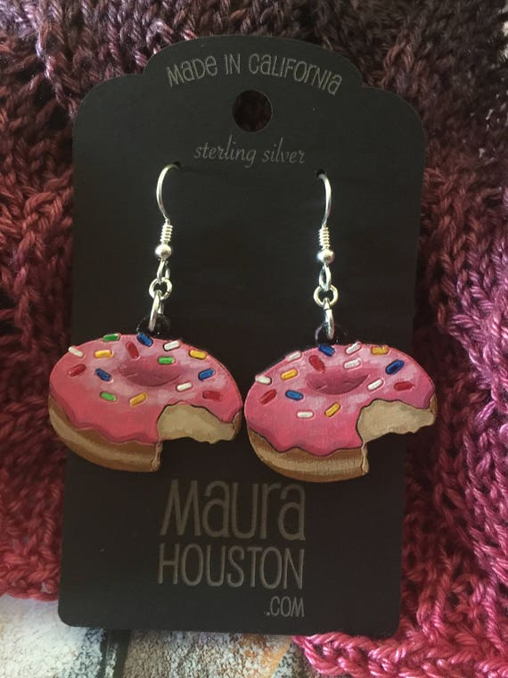 Doughnut Earrings