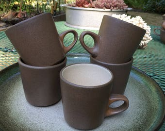 Heath Ceramics Edith Heath Coffee Mugs Birch Sausalito California USA