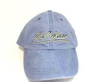 Denim dad hat H2O wear strap back hat