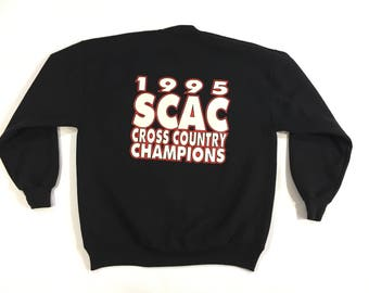 1995 Cross Country champions crewneck sweatshirt